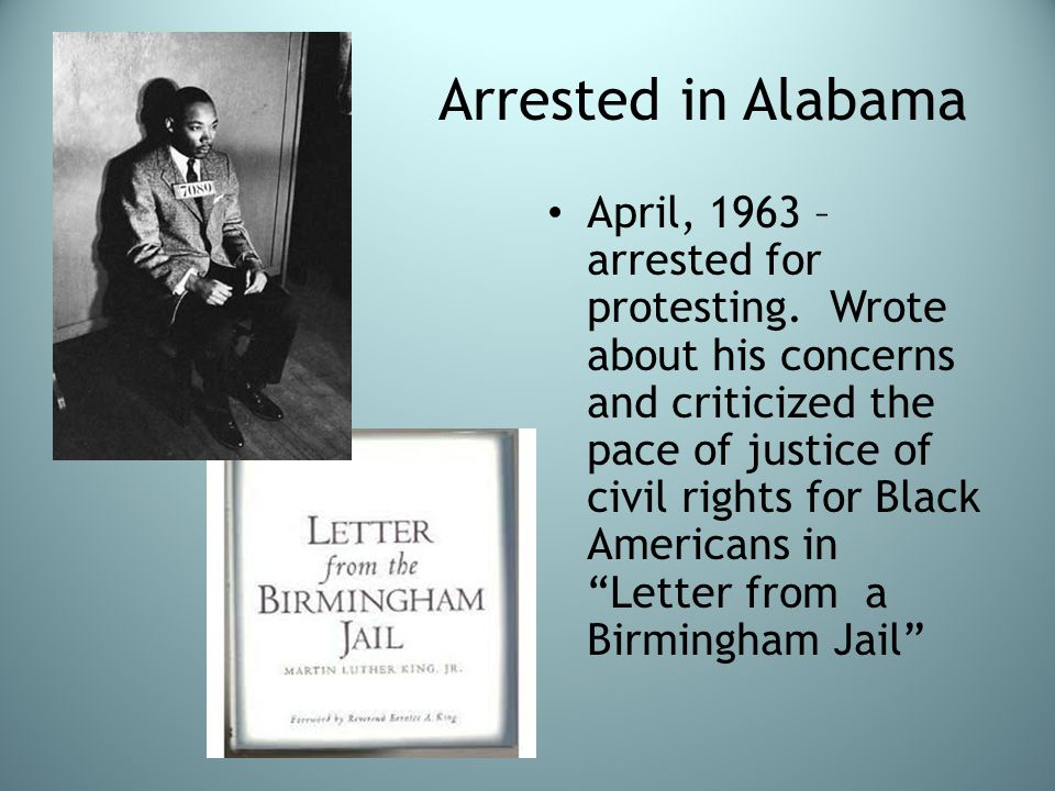 Arrested in Alabama
