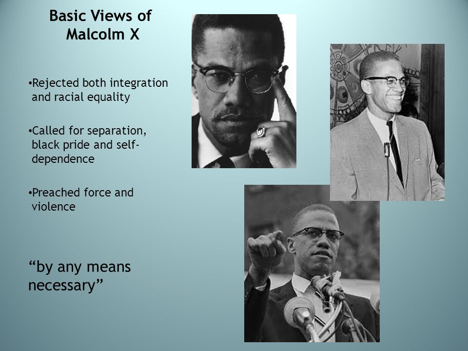 Basic Views of Malcolm X