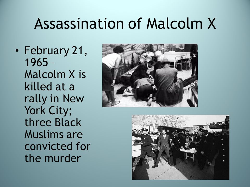 Assassination of Malcolm X