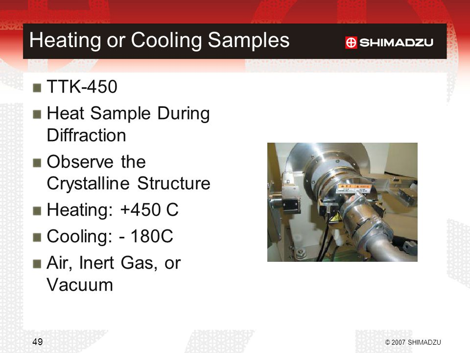 Heating or Cooling Samples