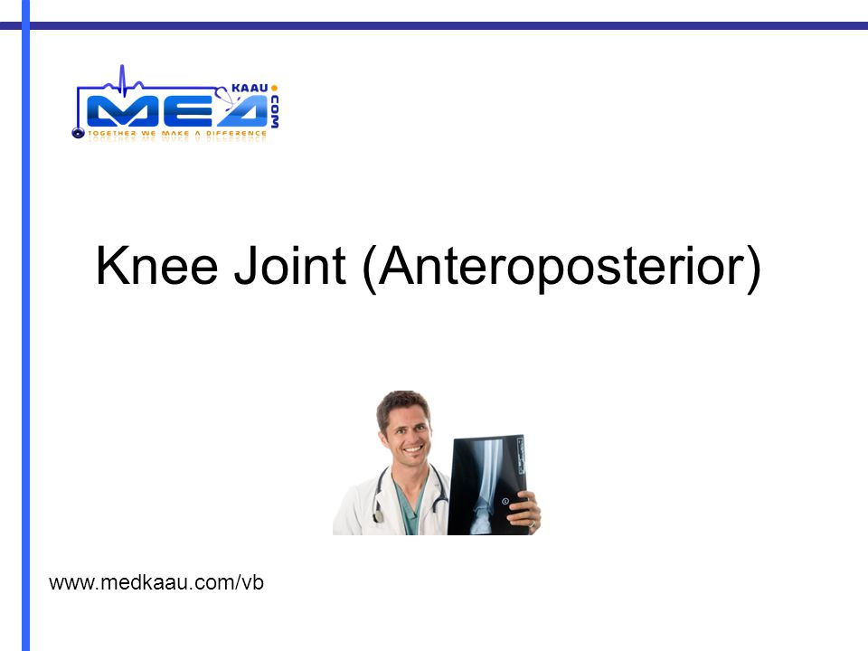Knee Joint (Anteroposterior)