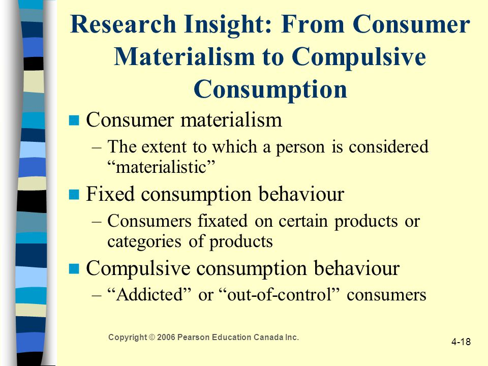 Research Insight: From Consumer Materialism to Compulsive Consumption