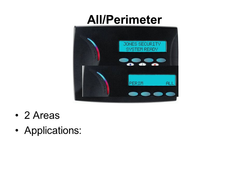 All/Perimeter 2 Areas Applications: