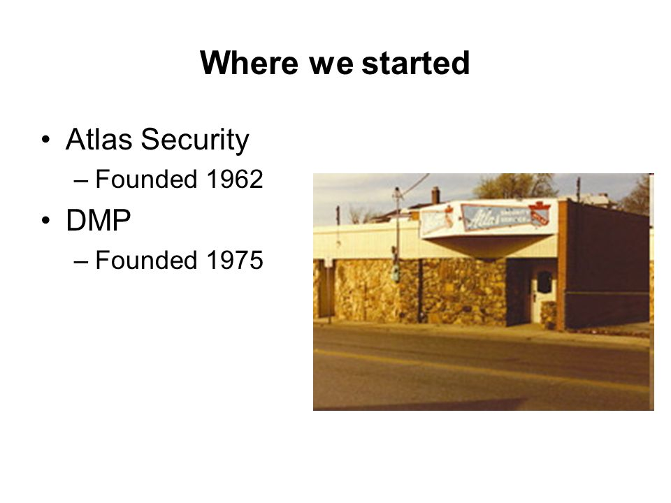 Where+we+started+Atlas+Security+DMP+Founded+1962+Founded+1975 xt30 xt50 basic training system overview ppt video online download dmp xt 50 wiring diagram at bakdesigns.co
