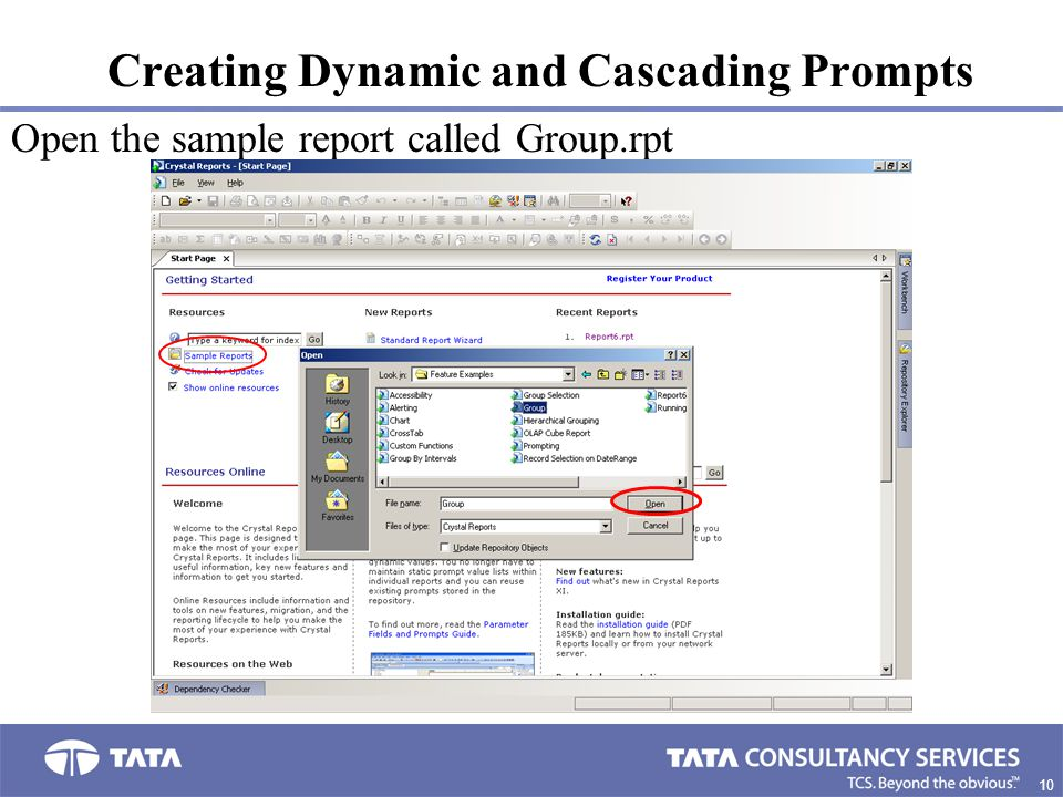 Creating Dynamic and Cascading Prompts