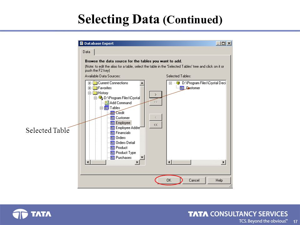 Selecting Data (Continued)