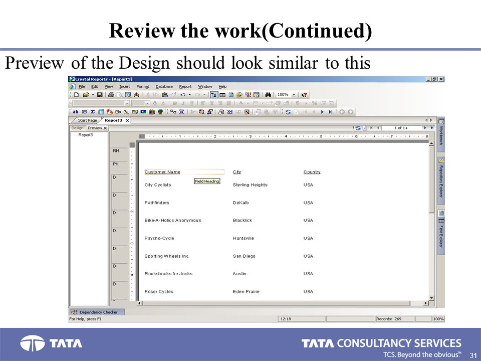 Review the work(Continued)