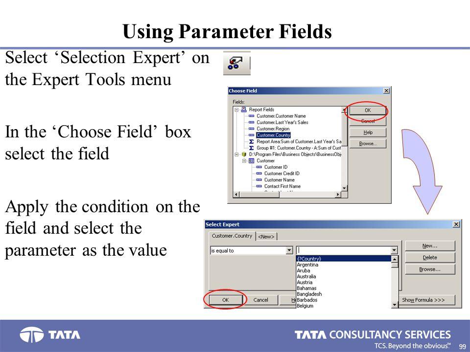 Using Parameter Fields