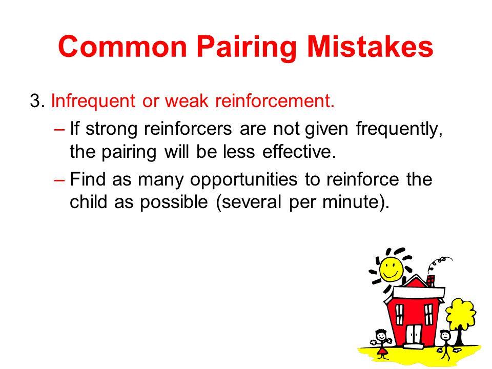 Common Pairing Mistakes