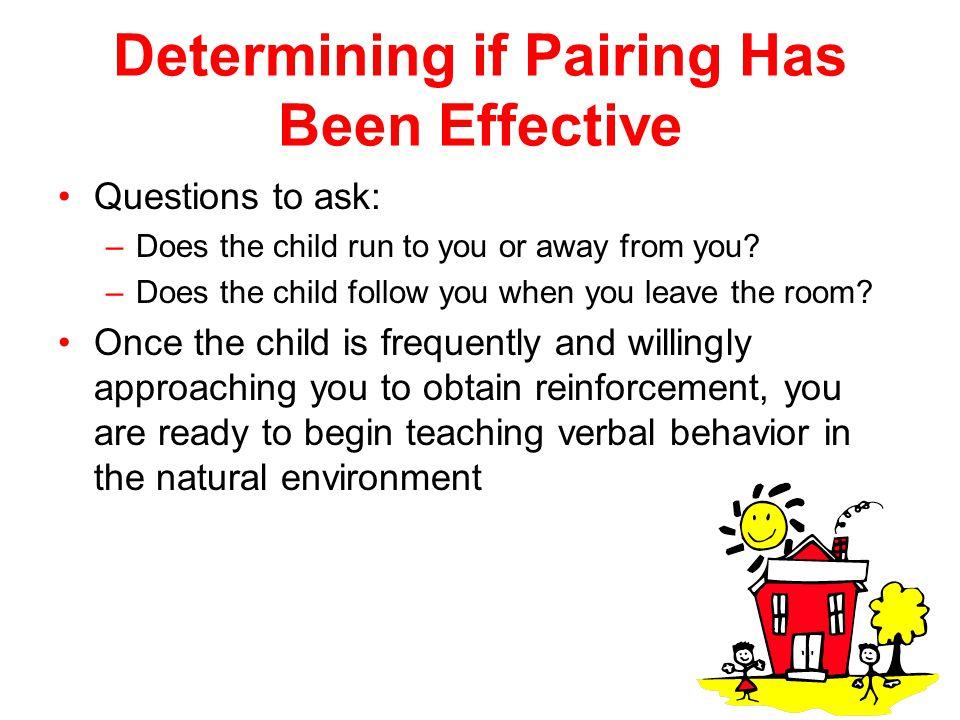 Determining if Pairing Has Been Effective