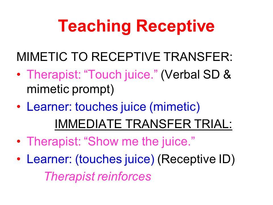 IMMEDIATE TRANSFER TRIAL: