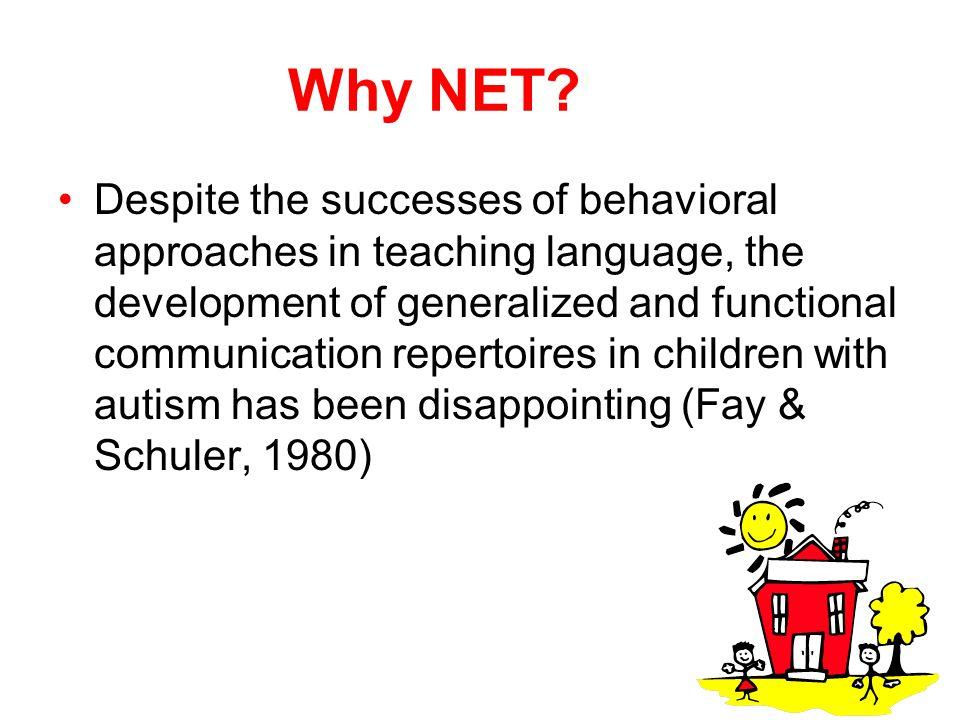 Why NET