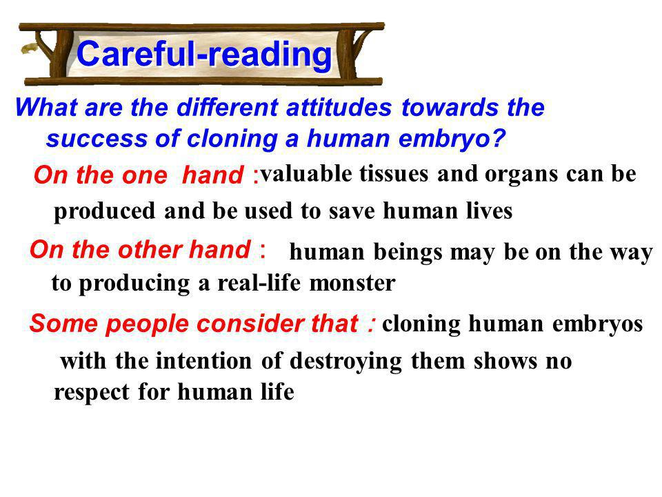 Careful-reading valuable tissues and organs can be