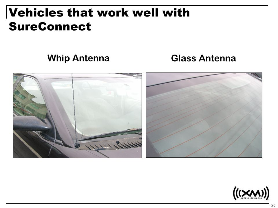 Vehicles that work well with SureConnect