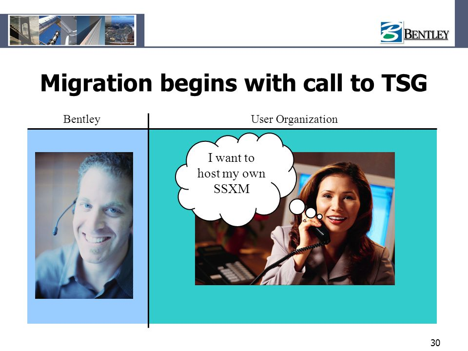 Migration begins with call to TSG