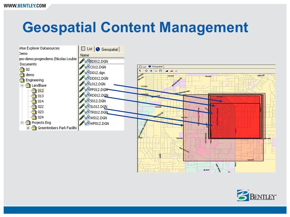Geospatial Content Management