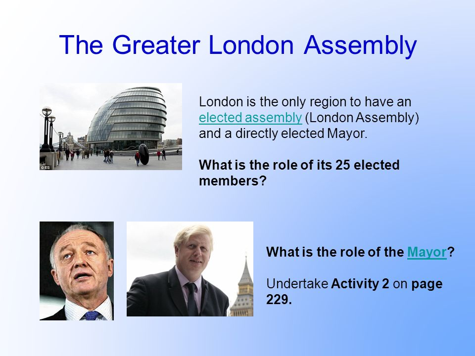 The Greater London Assembly