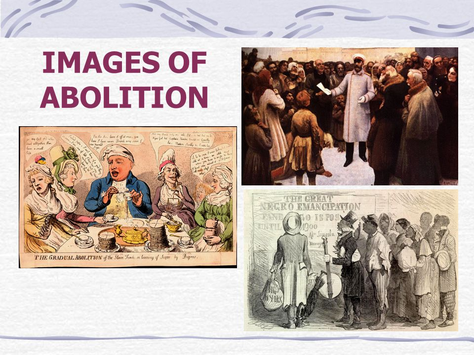 IMAGES OF ABOLITION