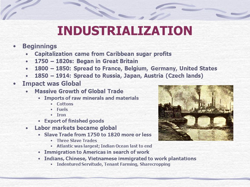 japan industrialization 1750 to 1914 Japan: transformation without revolution japan's response to outside pressure  was more direct and successful than that of russia.