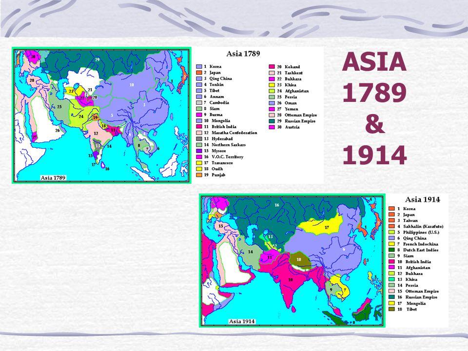 ASIA 1789 & 1914