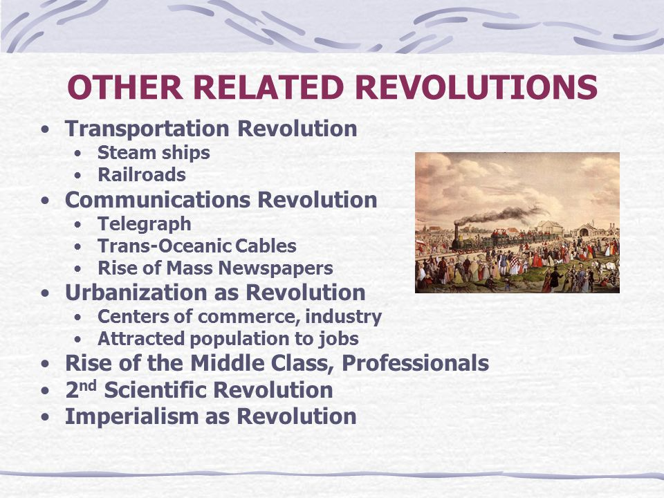 OTHER RELATED REVOLUTIONS