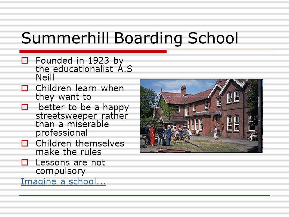 Summerhill Boarding School