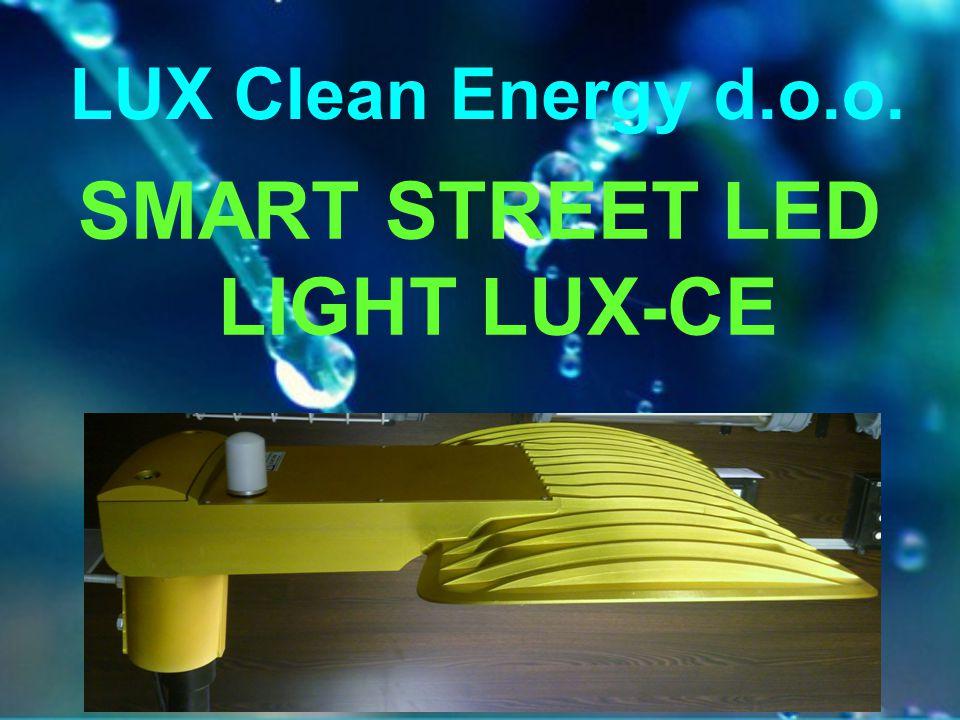 SMART STREET LED LIGHT LUX-CE