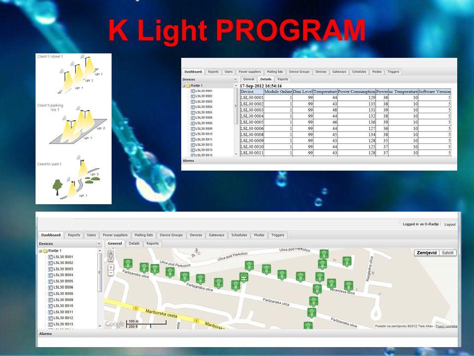 K Light PROGRAM