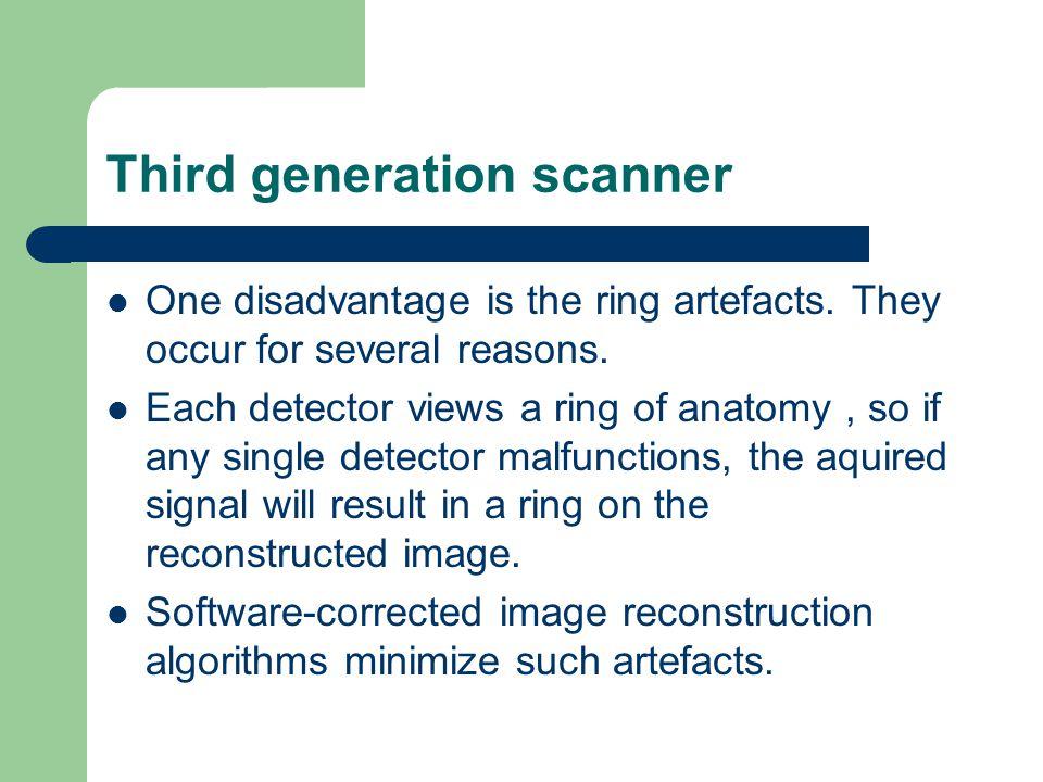 Third generation scanner