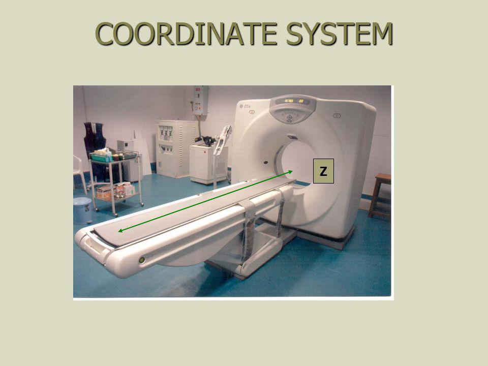COORDINATE SYSTEM Z