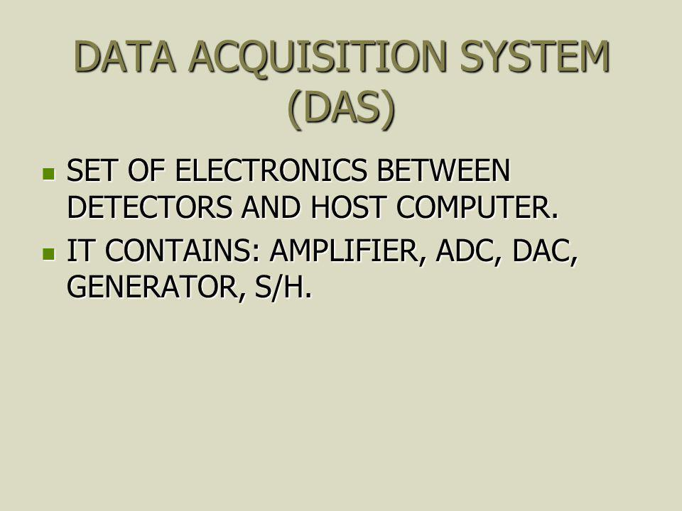 DATA ACQUISITION SYSTEM (DAS)
