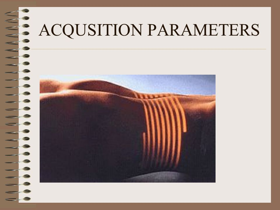 ACQUSITION PARAMETERS