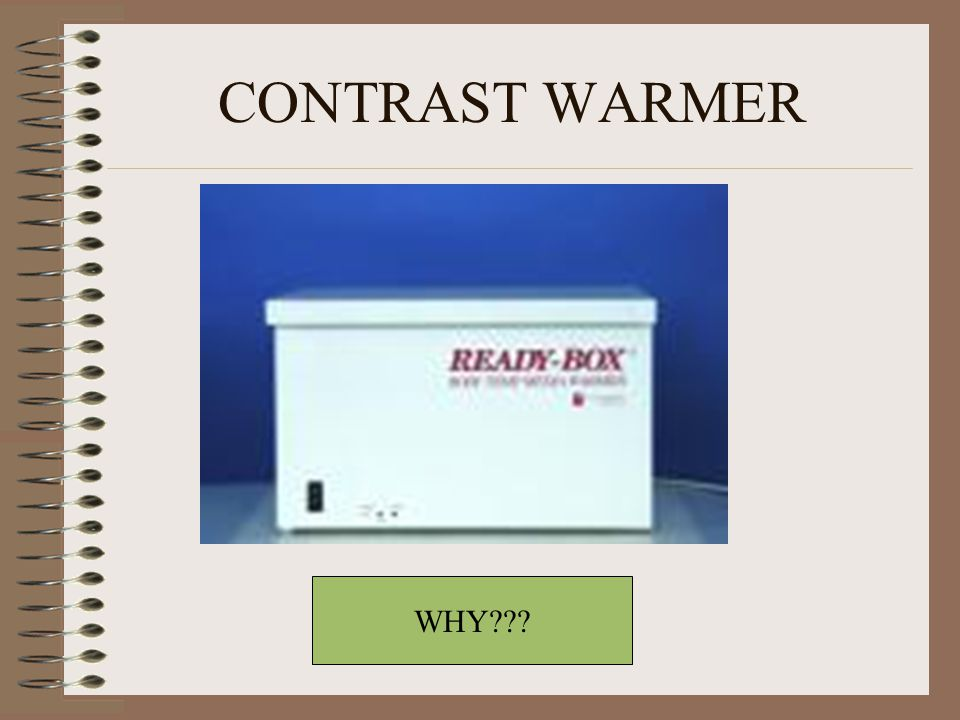 CONTRAST WARMER WHY