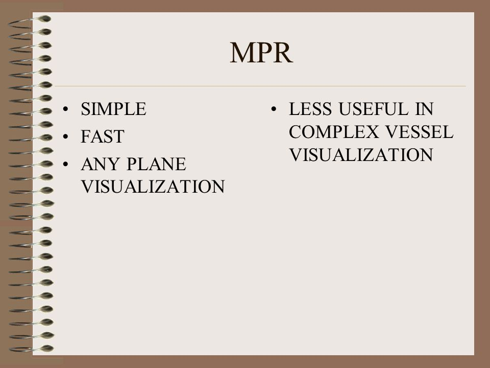 MPR SIMPLE FAST ANY PLANE VISUALIZATION