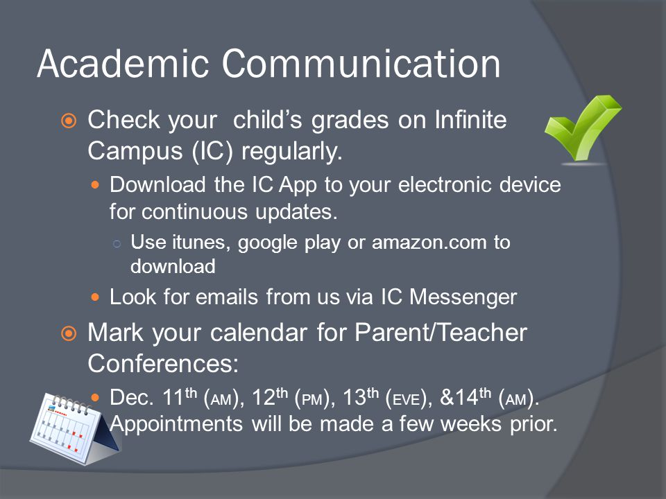 Academic Communication