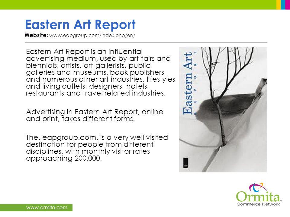 Eastern Art Report Website: www.eapgroup.com/index.php/en/