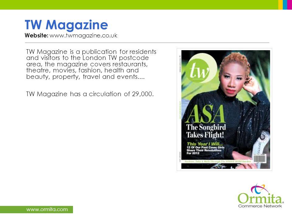 TW Magazine Website: www.twmagazine.co.uk