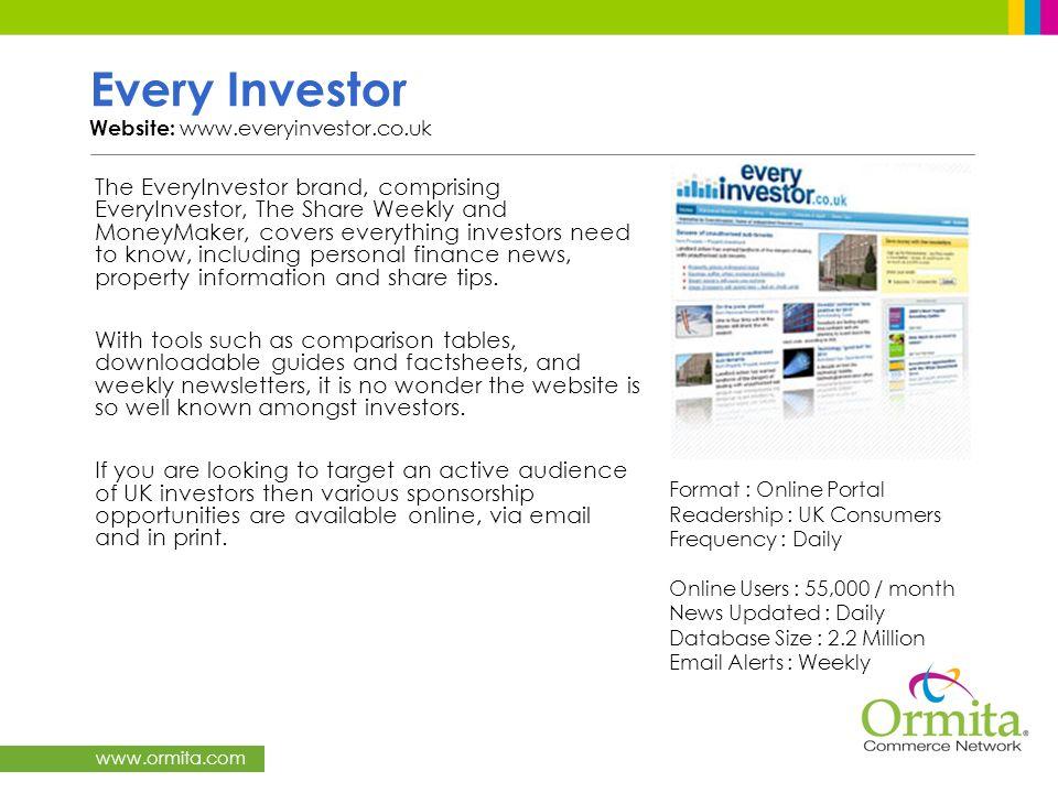 Every Investor Website: www.everyinvestor.co.uk