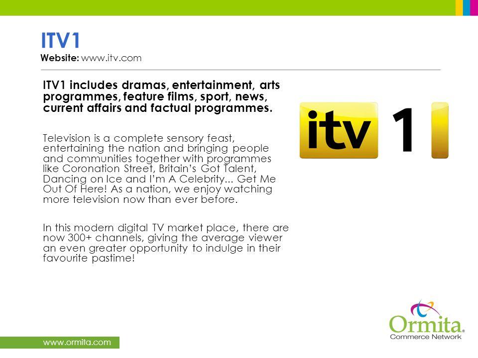 ITV1 Website: www.itv.com