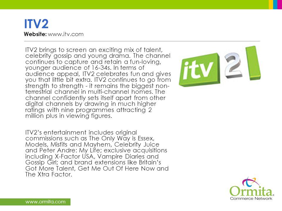 ITV2 Website: www.itv.com