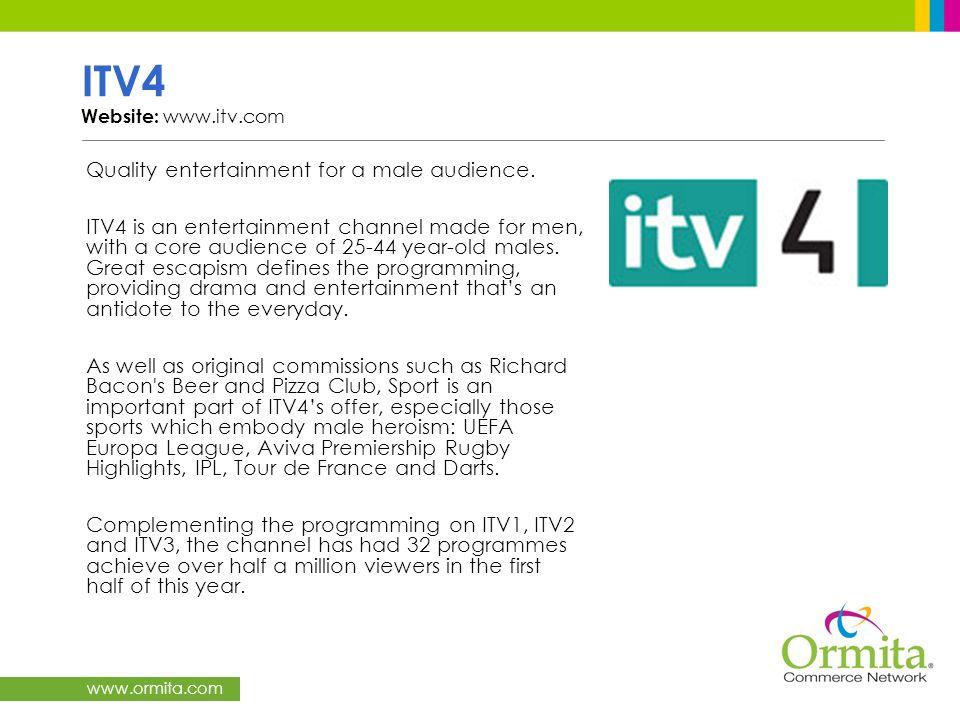 ITV4 Website: www.itv.com