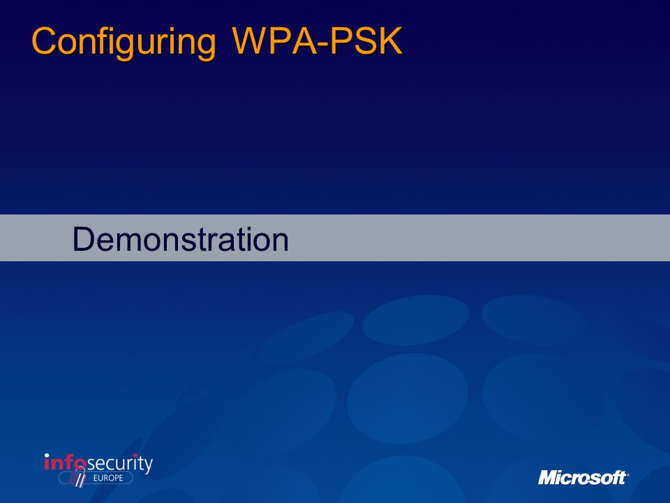 Configuring WPA-PSK Demonstration