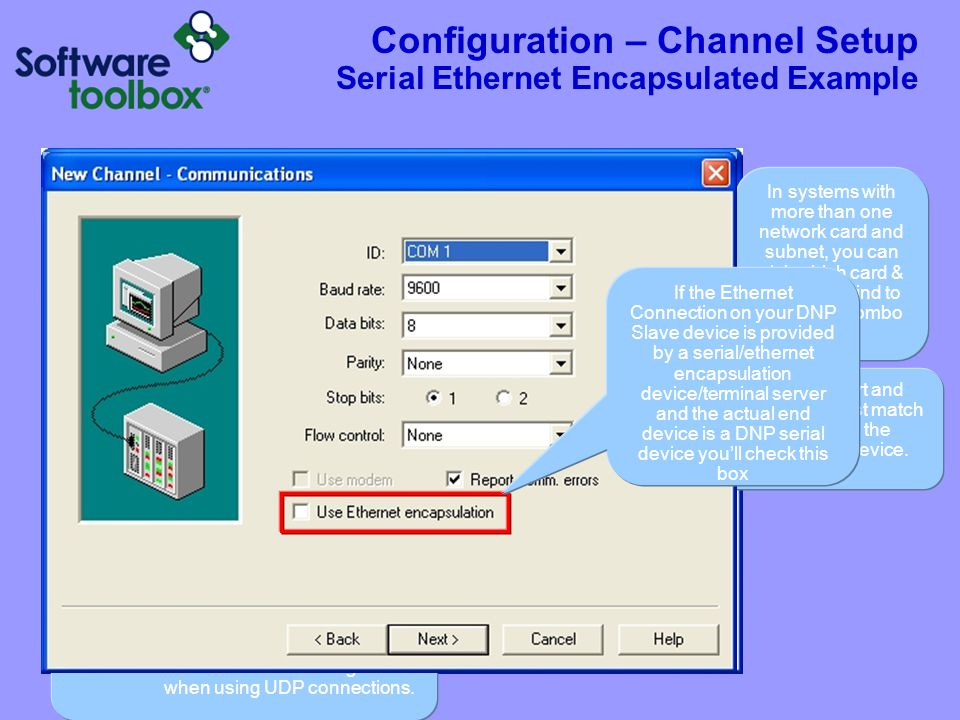 Configuration - Channel Important Considerations