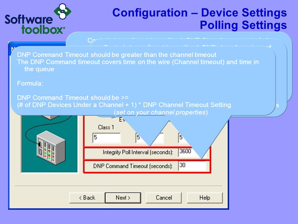 Configuration – Device Settings Advanced Settings