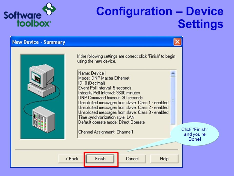 Configuration Setting up DNP Tags/Items