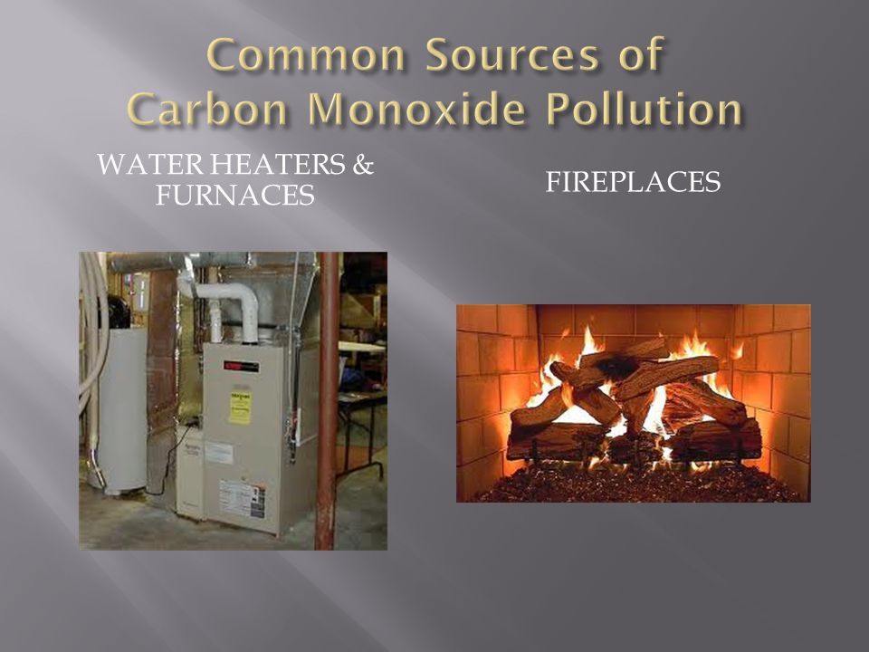 Common Sources of Carbon Monoxide Pollution