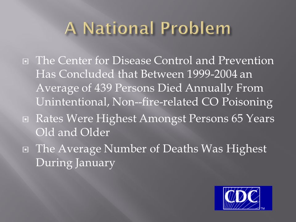 A National Problem