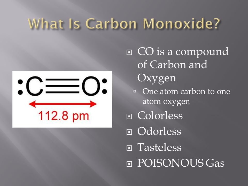 What Is Carbon Monoxide