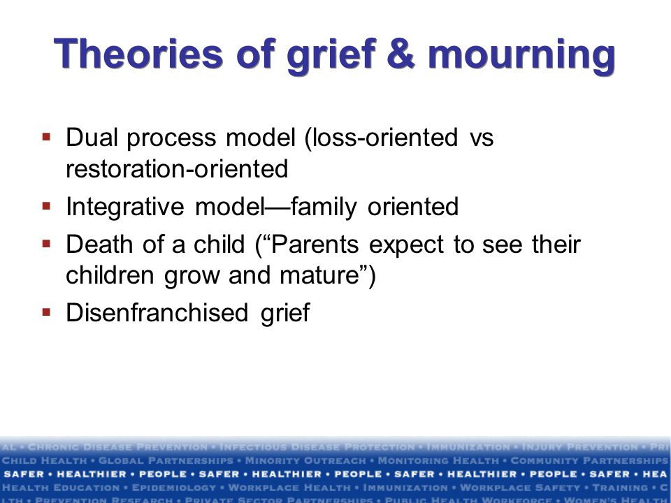 Theories of grief & mourning