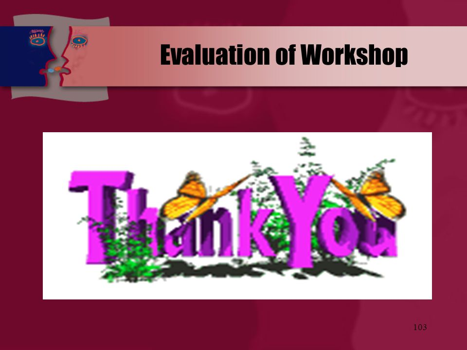 Evaluation of Workshop